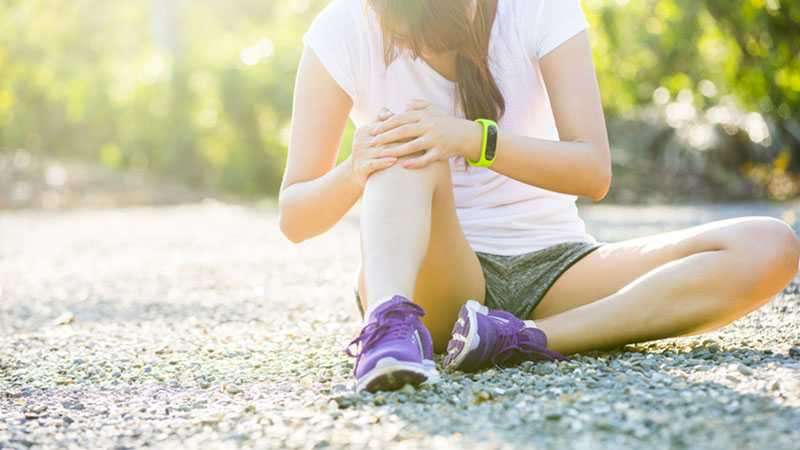 sports medical exam for knee pain